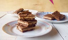 Low Fructose Vegan Salted Chocolate Peanut Butter Slice.