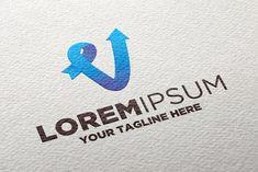 Logo Design Site, Menu Design, Arrow Logo, Letter V, Logo Google, Symbols, Templates, Logos, Creative