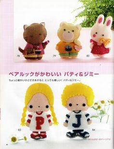 REVISTA JAPONESA FELTRO N.03 - lailahandmade - Álbumes web de Picasa