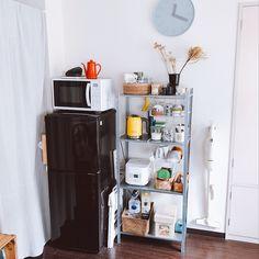 French Door Refrigerator, French Doors, Kitchen Appliances, Interior Design, Room, House, Kitchen Nook, Diy Kitchen Appliances, Nest Design