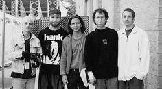 Mike, Jeff, Ed, Jack Irons, Stone