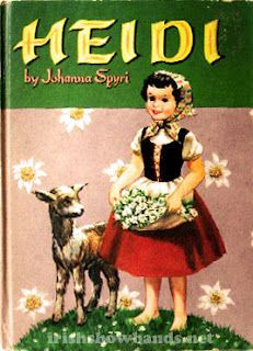 My childhood introduction to the Swiss Alps and a delightful little girl.