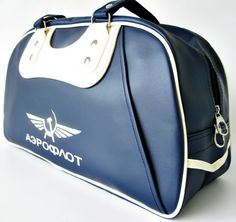 Aeroflot Russian Airlines Bag, Sport Style Gym « Clothing Impulse