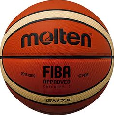 093cdf30a La qualità firmata MOLTEN per questo stupendo pallone da Basket nel colore  classico Arancione e nella