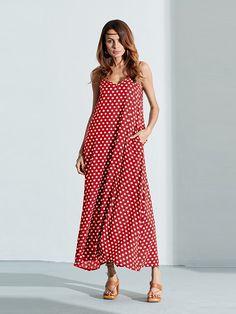 1b8bd62b18a Bohemian Women Sexy Strap Polka Dot Backless V Neck Beach Dress - sale at
