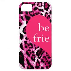 311 Best Friends Pink Leopard Left Side iPhone 5 Cases