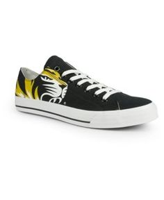 Row One Missouri Tigers Victory Sneakers - Black 8 1/2