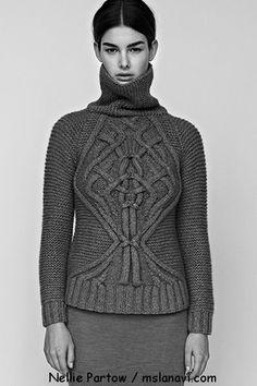 Knitting patterns from Nellie Partow / Вязаные модели от Nellie Partow  http://mslanavi.com/2013/11/vyazanye-modeli-ot-nellie-partow/