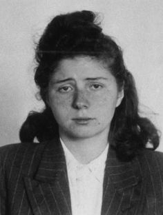 Liane Berkowitz August 1923 – 5 August was a German resistance fighter of the Red Orchestra organisation. Arrested and sentenced to death, she was executed shortly after she gave birth to a daughter in custody. 1940s Woman, Brave Women, Great Women, Yesterday And Today, Orchestra, World War Ii, Ww2, Germany, 7 August