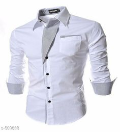 Shirts Classy Solid Satin Cotton Men's Casual Shirt Fabric: Satin Cotton Sleeves: Full Sleeves Are Included Size: M- 38 in L- 40 in XL- 42 in Length: Up To 26 in Type: Stitched Description: It Has 1 Piece Of Men's Casual Shirt Pattern: Solid Country of Origin: India Sizes Available: M, L, XL   Catalog Rating: ★4 (519)  Catalog Name: Men's Partywear Satin Cotton Casual Shirts Vol 2 CatalogID_56227 C70-SC1206 Code: 654-509638-8631