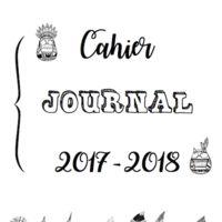 Oui, je sais, je suis trèèèèèès en avance mais j'aime être organisée et je pense à vous. Alors voilà, j'ai commencé à créer mon propre cahier journal et je vous le propose...