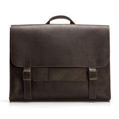 Satchel Bag // Chocolate Brown