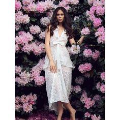 For Love and Lemons 'Sweet Disposition Lace Maxi Dress Ivory' |Shop Splash www.shopsplash.com