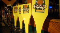 San Diego Brewing Company-great food, amazing home brews, 21 T.V. screens and close proximity to Qualcom Stadium.