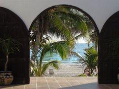 Paradise in Sian Ka'an Reserve - Right on the Beach