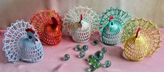 2owieczki: marca 2014 Bolero Pattern, Crochet Earrings, Candle Holders, Easter, Candles, Diy, Inspiration, Craft, Hens