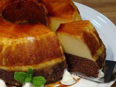 Tarta mágica. También en mi Blog: http://lacocinadelolidominguez.blogspot.com.es/2015/01/tarta-magica.html ¡¡Que rica!! Un postre delicioso que lo tiene todo...