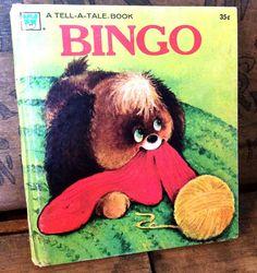 Vintage Antique Estate 1975 Bingo Whitman A Tell A by MADVintology