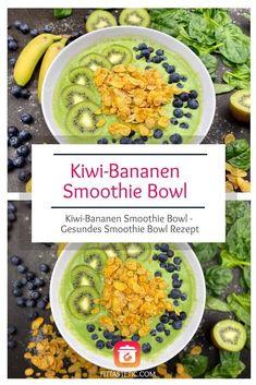 Kiwi-Bananen Smoothie Bowl – Gesunde Smoothie Bowl