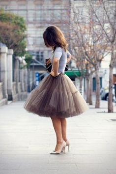 Tulle skirt perfection