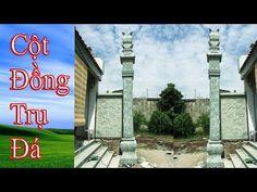 Cột đá đồng trụ- Thi công lắp đặt cột đá đẹp tại nhà thờ thành phố Hải Phòng - YouTube