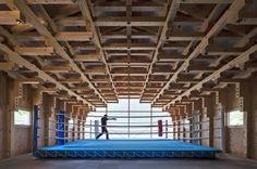 Kogakuin University Boxing Clube by FT Architects