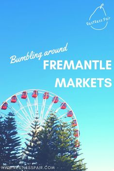 We've been to heaps of markets all over Australia - Fremantle markets are up there with the best! Grab gourmet treats or a vintage steal here! Australia Tours, Australia Travel, Western Australia, Travel Guides, Travel Advice, Travel Tips, Places To Rent, Interesting History, Romantic Travel
