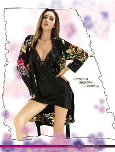 New spring and autumn and exquisite embroidery silk home clothes suspenders sexy nightdress Nightgown pajamas