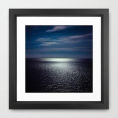 Sea Framed Art Print by lilla värsting - $32.00