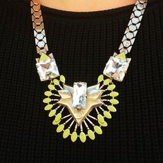 This beauty is part of the Memorial Day extra 25% off goodness available through the Mystery Hostess Trunk show link www.stelladot.com/ts/38l76 - let's just say you were to buy it - you'd get this beautiful necklace, $25 off a $50 purchase beginning June 25, you'll be eligible for the trunk show exclusives (additional items that are half off and NOT included in the sale), and you'll get an entry to win ALL the hostess rewards from the trunk show!