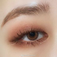 Korean Natural Makeup, Korean Makeup Look, Asian Eye Makeup, Makeup Eye Looks, Eye Makeup Art, Kiss Makeup, Makeup Inspo, Eyeshadow Makeup, Makeup Inspiration