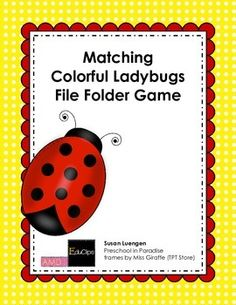 * File Folder Games are great, quiet independent activities to use at naptime with your early risers or if you have non-sleepers in your group.   * File Folder Games are also useful when working with a student in a one- to- one situation, when doing drills or when targeting an individual students specific learning needs