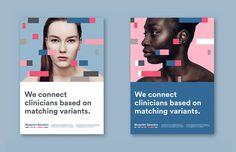 Medical poster design print ads new ideas - New Ideas Identity Design, Brochure Design, Visual Identity, Brand Identity, Web Design, Logo Design, Graphic Design, Layout Design, Print Design