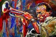 Debra Hurd Original Paintings AND Jazz Art - Miles Davis
