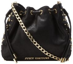 Juicy Couture Bedford Leather Julie Top Handle Bag,Black,One Size Juicy Couture,http://www.amazon.com/ 298.00