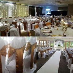 Sirling Court Hotel wedding ceremony and reception by Eze Events (@EzeEvents) on Twitter #wedding #weddinglinen #goldwedding #backdrops #stirlingcourthotel #weddingideas