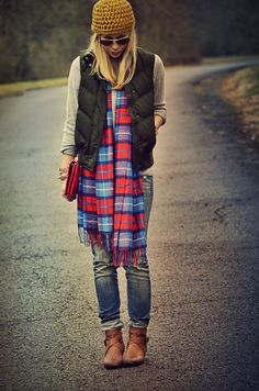 Can't get enough plaid!