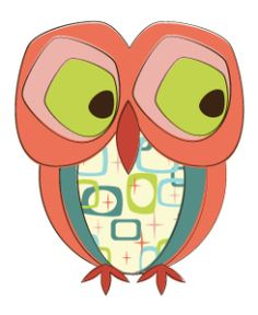 Day 348: Sad Retro Owl from http://owladay.wordpress.com