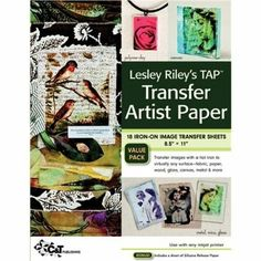 Amazon.com: C&T Publishing Lesley Riley's TAP Transfer Artist Paper 8.5x11 Sheet 18-Pack: Arts, Crafts & Sewing