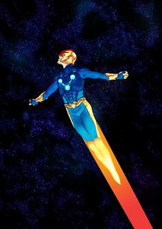 Nova (Richard Rider) from Marvel Comics