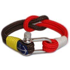 Shackle Nautical Bracelet by Bran Marion