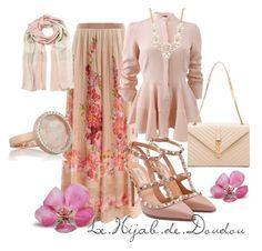 Floral Hijab Outfit  http://lehijabdedoudou.wordpress.com