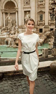 little white dress stylish