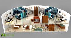 4D Section Floor Plan Design