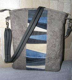 Купить Джинсовые сумки - комбинированный, джинсовая сумка, удобная сумка, джинсовый стиль