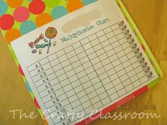 Times Table Folder