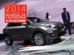 Paris Motor Show 2014: Fiat 500X and Jeep Renegade | Show | Report | 2014