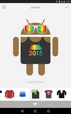 ONE: Google celebra el día del Orgullo LGBT con nueva y colorida ropa para Androidify