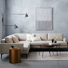 Andes L Shaped Sectional Living Room