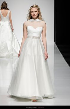 Oonagh - Classic Alan Hannah signature in thai silk and tulle Wedding Bride, Elegant Wedding, Wedding Gowns, Dress Rings, Yes To The Dress, Wedding Styles, Wedding Ideas, Bridal Collection, Bridal Style